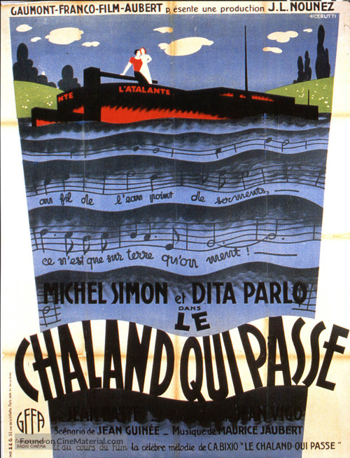 L'Atalante - French Re-release poster