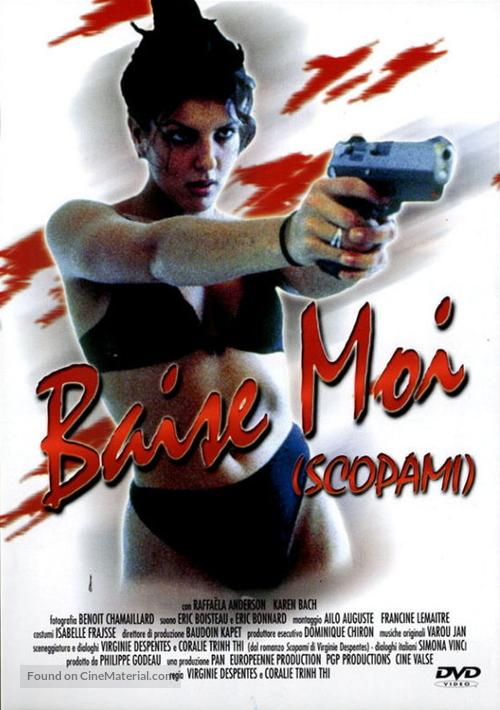 Baise-moi - Italian DVD cover