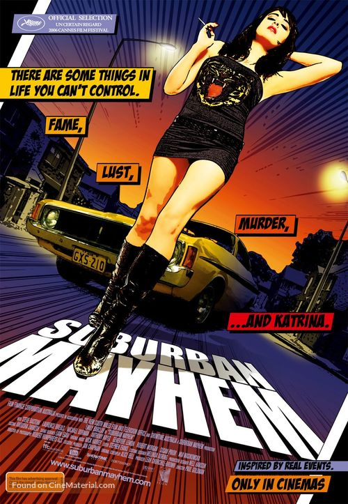 Suburban Mayhem - Australian Movie Poster