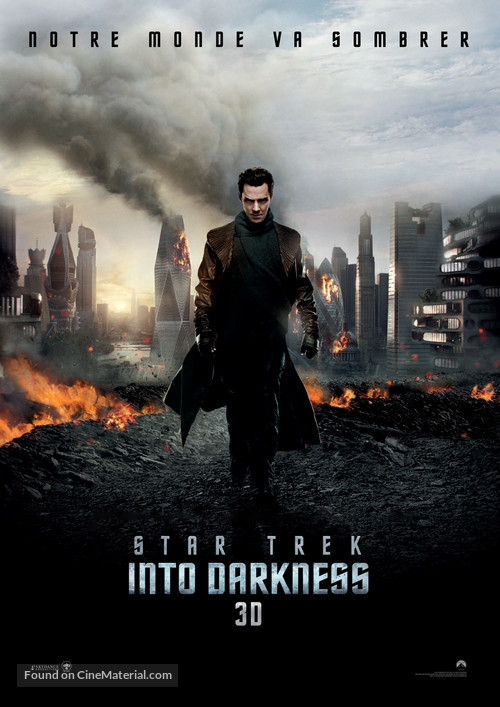 Star Trek Into Darkness - French Movie Poster