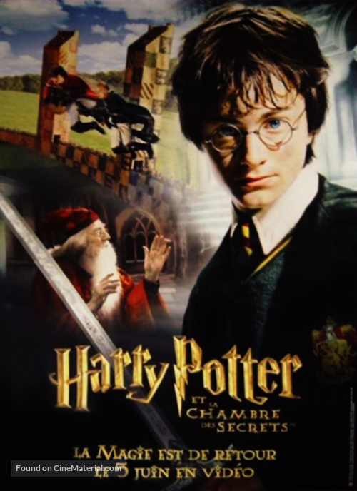 Harry Potter and the Chamber of Secrets - French Movie Poster