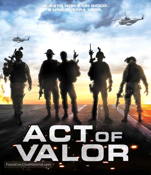Act of Valor - Italian Blu-Ray cover