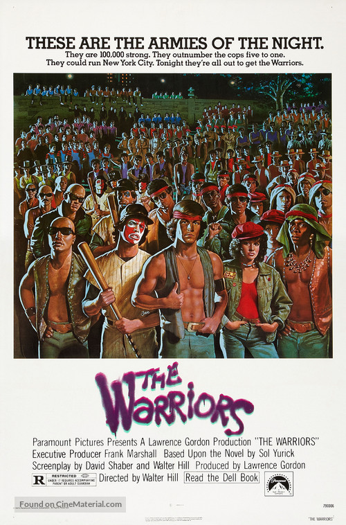 The Warriors - Theatrical movie poster