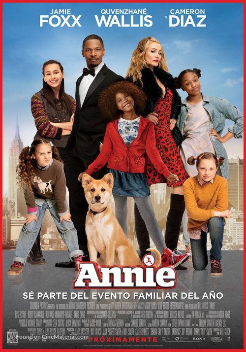 Annie - Argentinian Movie Poster