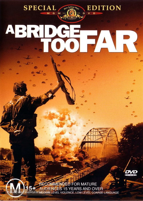 A Bridge Too Far - Australian DVD cover
