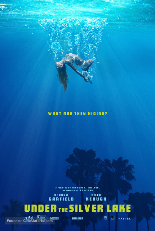 Under the Silver Lake - Movie Poster