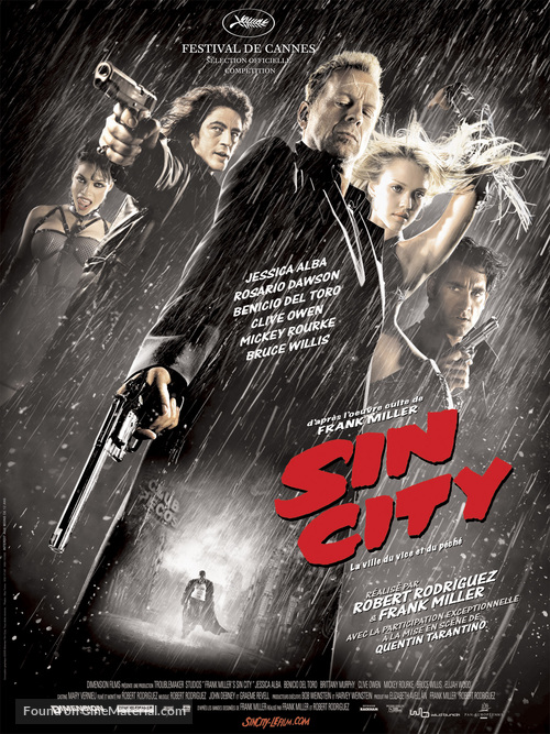 Sin City - French Movie Poster