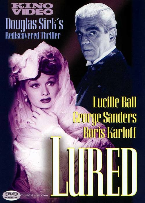 Lured - DVD movie cover