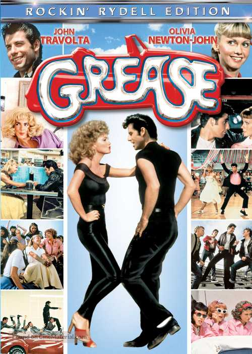Grease - DVD movie cover