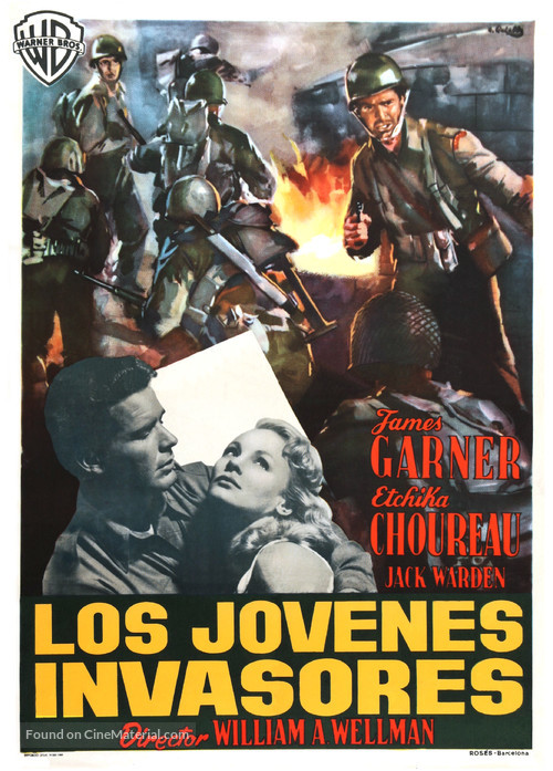 Darby's Rangers - Spanish Movie Poster