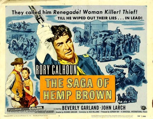 The Saga of Hemp Brown - Movie Poster