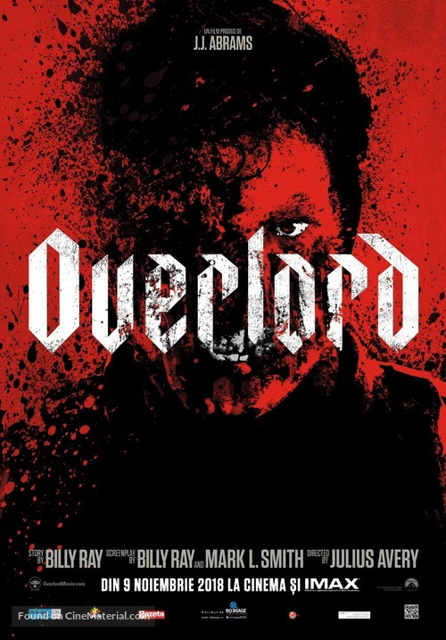 Overlord - Romanian Movie Poster