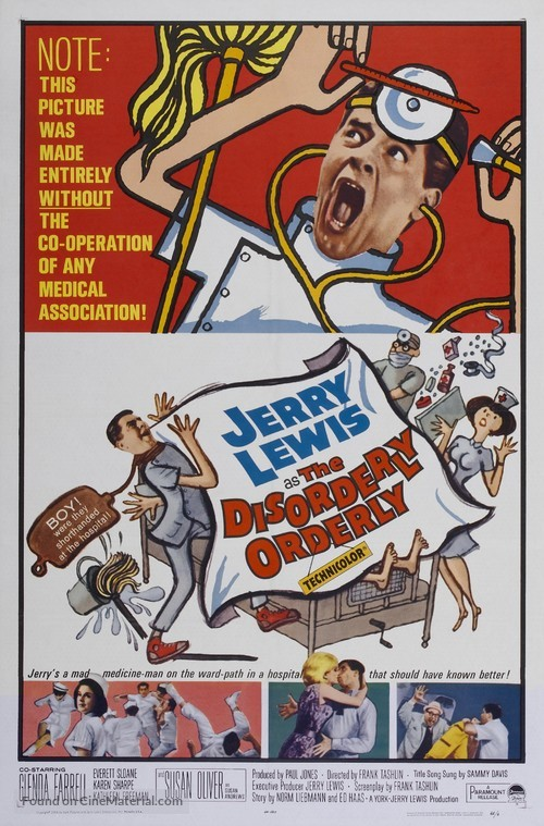 The Disorderly Orderly - Movie Poster