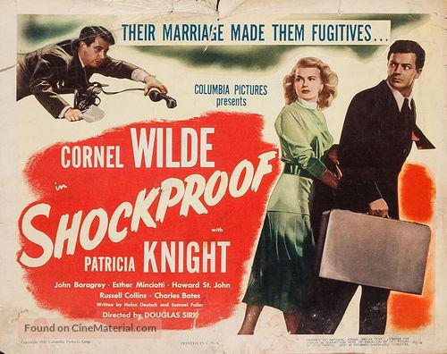 Shockproof - Movie Poster