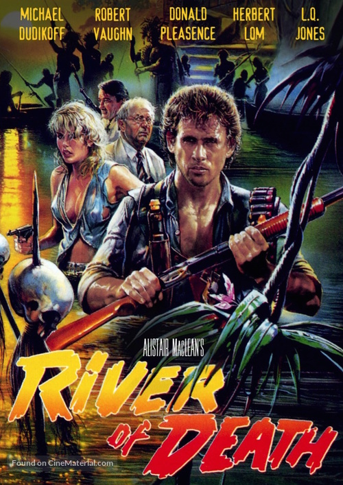 River of Death - DVD movie cover