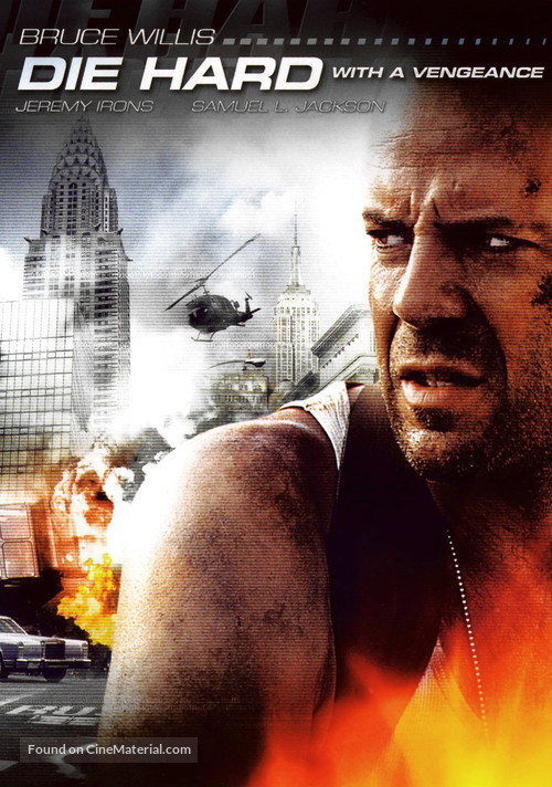 Die Hard: With a Vengeance - DVD movie cover