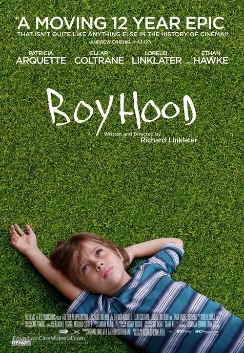Boyhood - Canadian Movie Poster