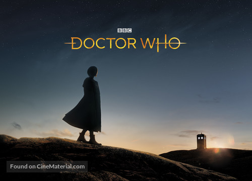 """""""Doctor Who"""" - British Movie Cover"""