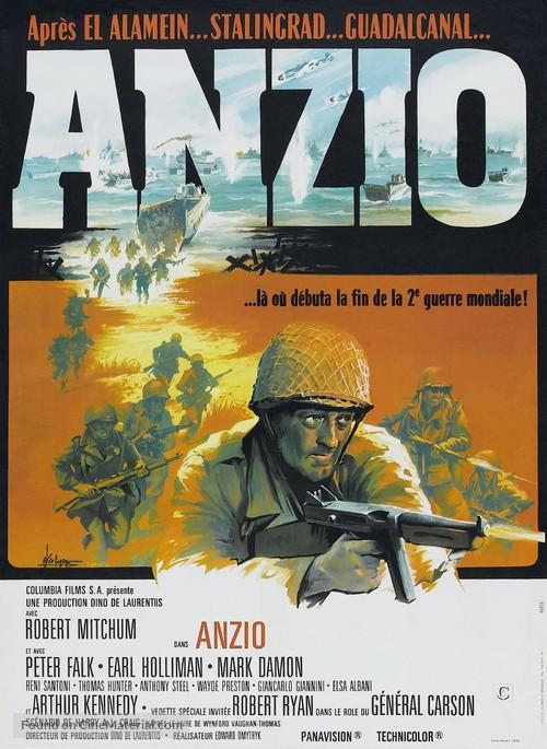 Anzio - French Movie Poster