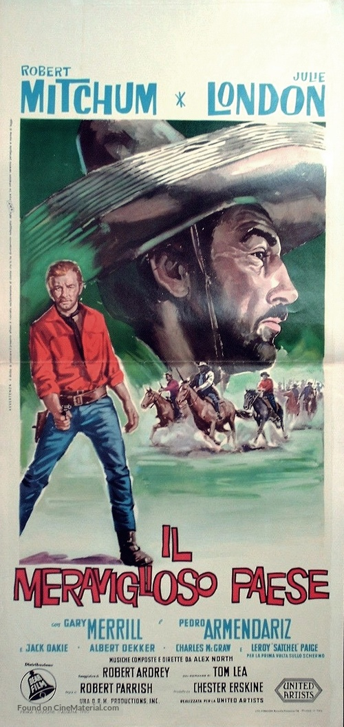 The Wonderful Country - Italian Movie Poster