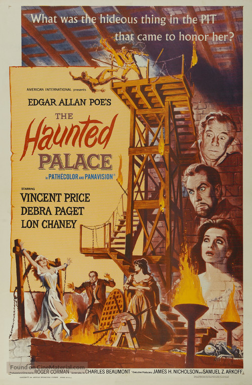 The Haunted Palace - Movie Poster