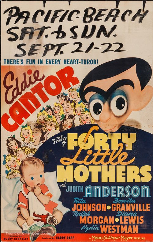 Forty Little Mothers - Movie Poster