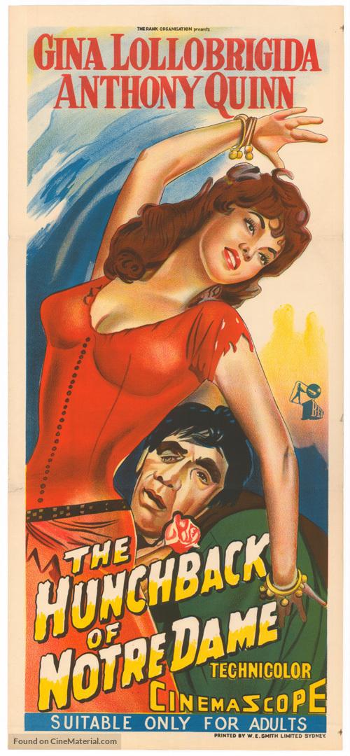Notre-Dame de Paris - Australian Movie Poster