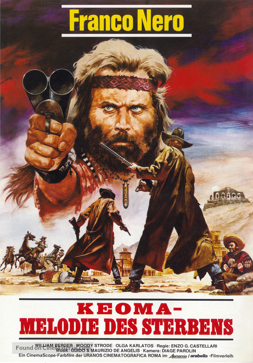 Keoma - German Movie Poster