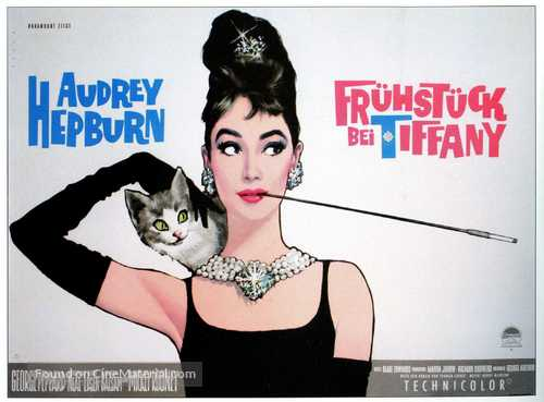 Breakfast at Tiffany's - German Movie Poster