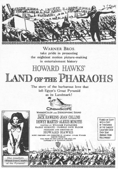 Land of the Pharaohs - poster
