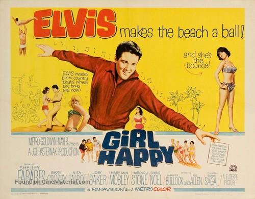Girl Happy - Movie Poster