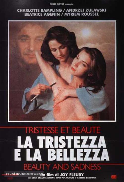 Tristesse et beauté - Italian Movie Poster