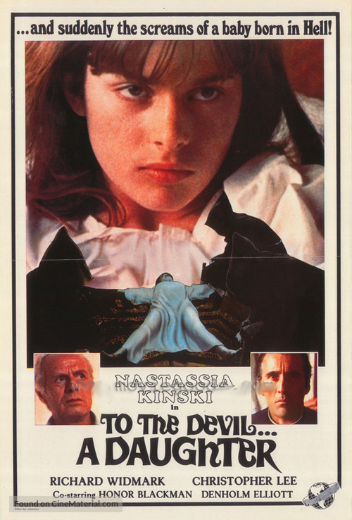 To the Devil a Daughter - Movie Poster