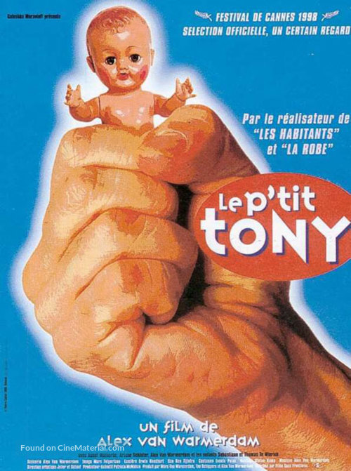 Kleine Teun - French Movie Poster