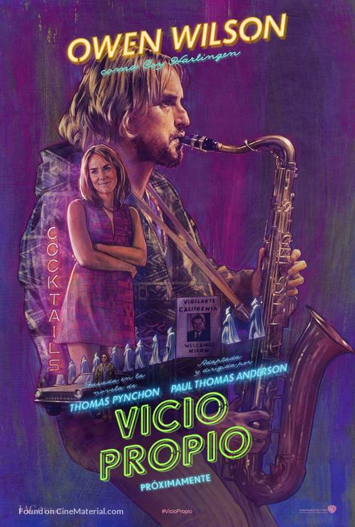 Inherent Vice - Argentinian Movie Poster