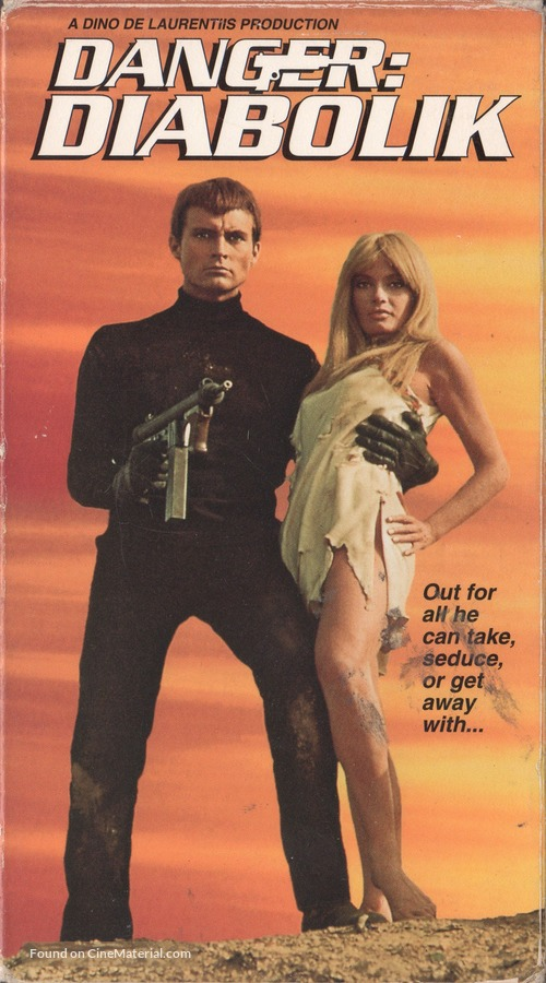Diabolik - VHS cover
