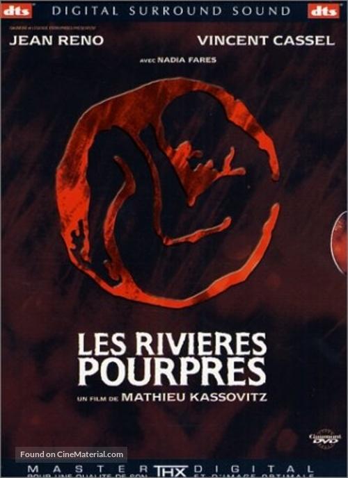Les rivières pourpres - French DVD cover