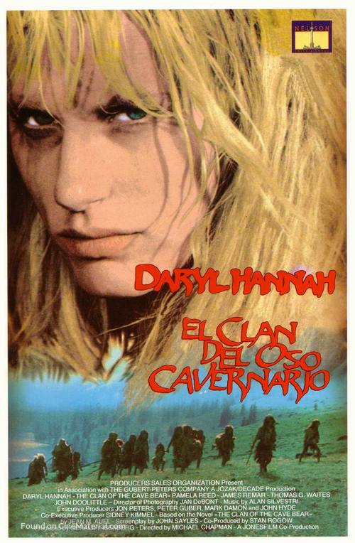 The Clan Of The Cave Bear Spanish Movie Cover