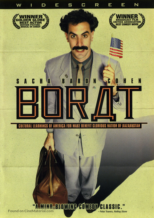Borat: Cultural Learnings of America for Make Benefit Glorious Nation of Kazakhstan - poster