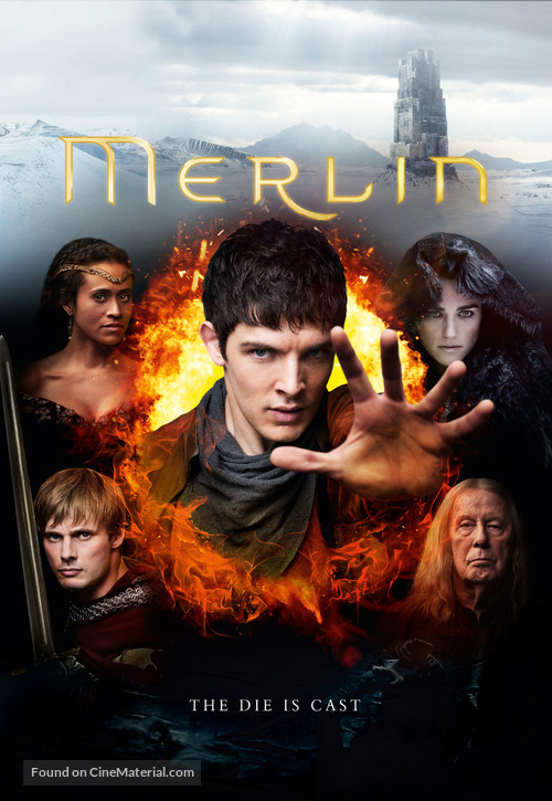 """Merlin"" - British Movie Poster"
