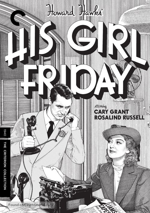 His Girl Friday - DVD cover