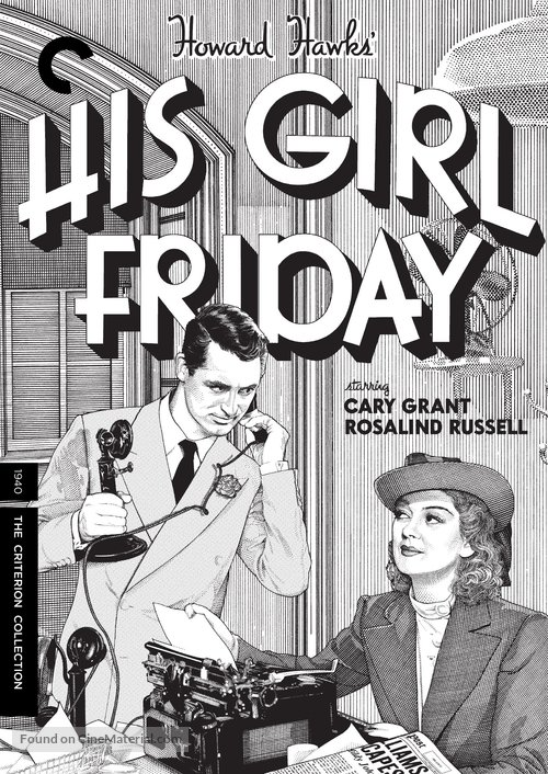 His Girl Friday - DVD movie cover