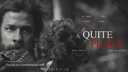 A Quiet Place - Chinese Movie Poster