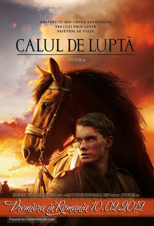 War Horse - Romanian Movie Poster