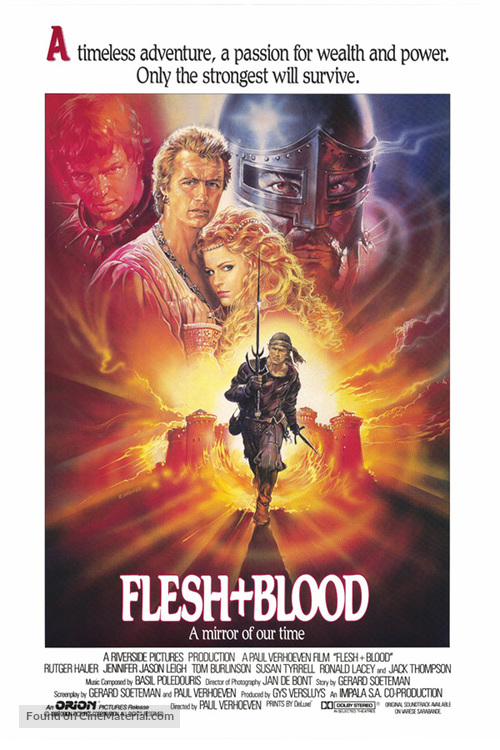 Flesh And Blood - Movie Poster