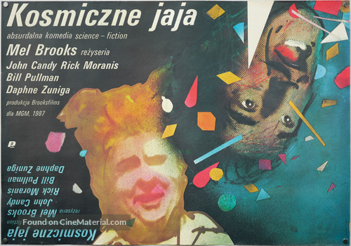Spaceballs - Polish Movie Poster