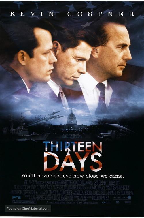 Thirteen Days - Movie Poster