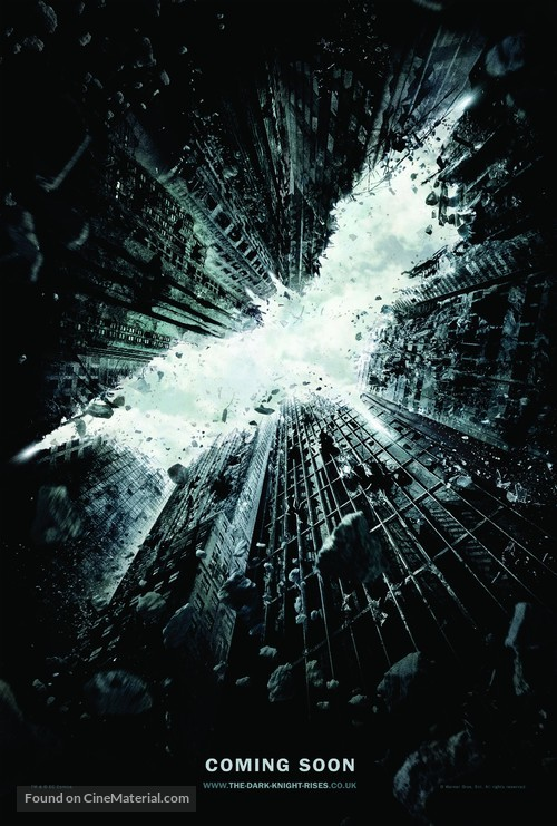 The Dark Knight Rises - British Movie Poster