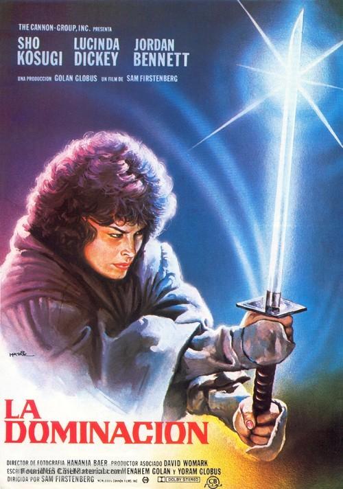 Ninja III: The Domination - Spanish Movie Poster