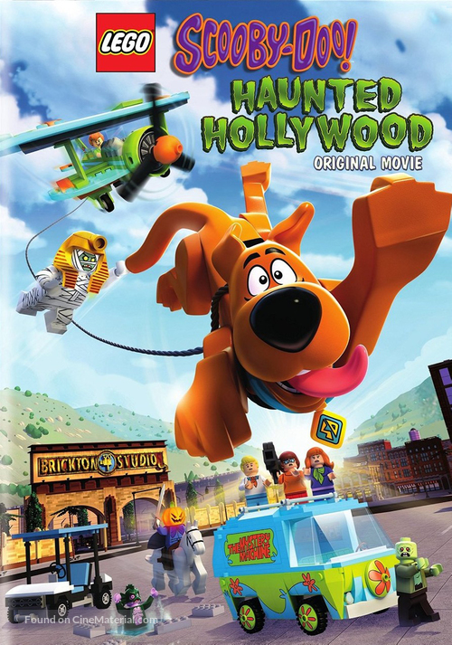 Lego Scooby-Doo!: Haunted Hollywood - DVD movie cover